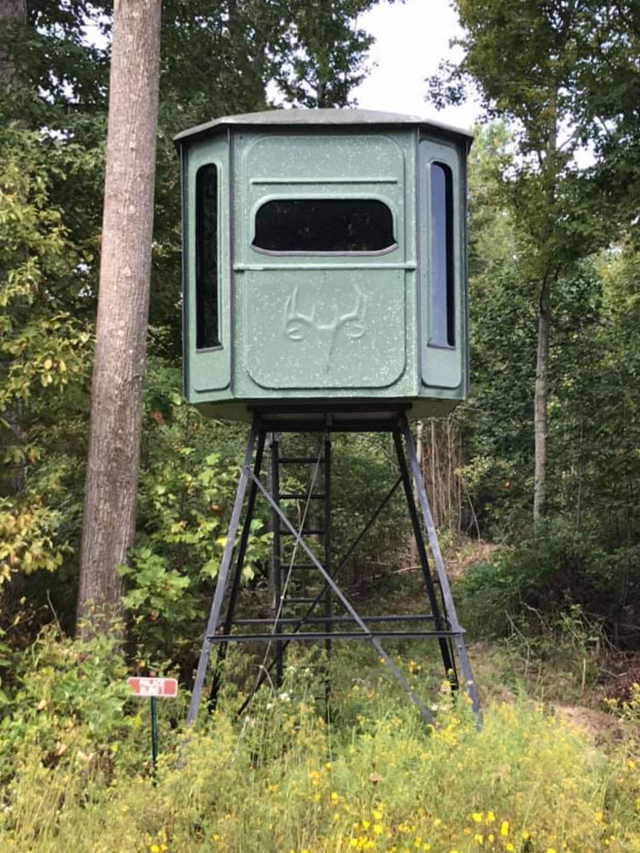deer stand buy hunting land